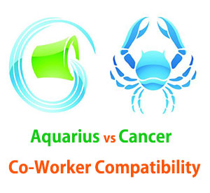 Aquarius and Cancer Co-Worker Compatibility