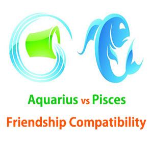 Aquarius and Pisces Friendship Compatibility