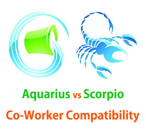 Aquarius and Scorpio Co-Worker Compatibility