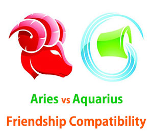 Aries and Aquarius Friendship Compatibility