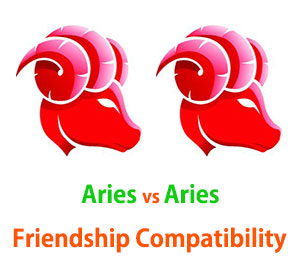 Aries and Aries Friendship Compatibility