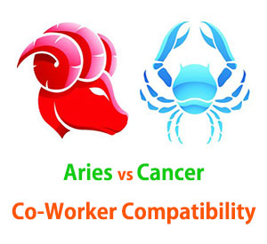 Aries and Cancer Co-Worker Compatibility