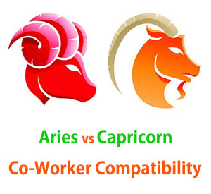 Aries and Capricorn Co-Worker Compatibility