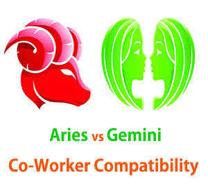 Aries and Gemini Co-Worker Compatibility