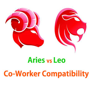 Aries and Leo Co-Worker Compatibility