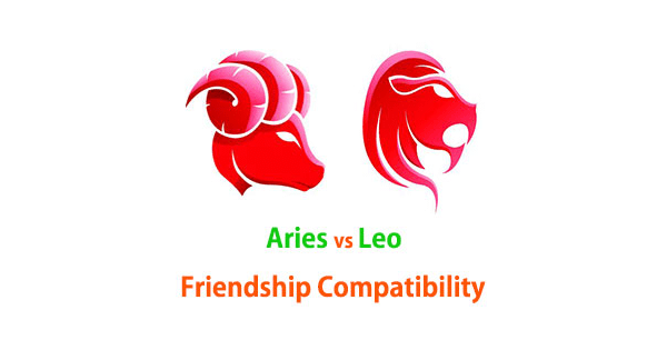 Aries and Leo Friendship Compatibility