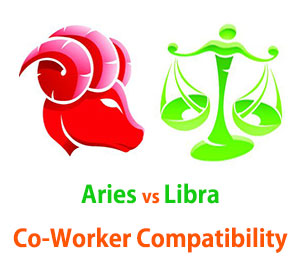 Aries and Libra Co-Worker Compatibility