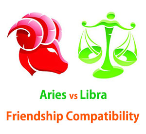 Aries and Libra Friendship Compatibility
