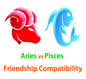 Aries and Pisces Friendship Compatibility