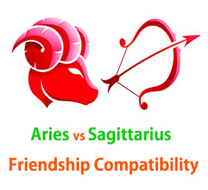 Aries and Sagittarius Friendship Compatibility