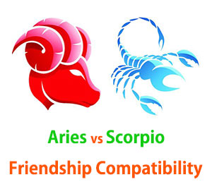 Aries and Scorpio Friendship Compatibility