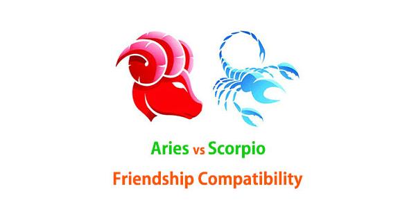 Aries and Scorpio Friendship Compatibility