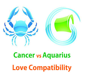 Cancer and Aquarius Love Compatibility