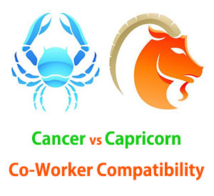 Cancer and Capricorn Co-Worker Compatibility