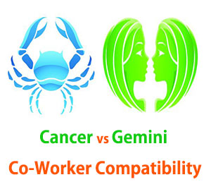 Cancer and Gemini Co-Worker Compatibility