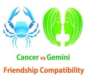 Cancer and Gemini Friendship Compatibility