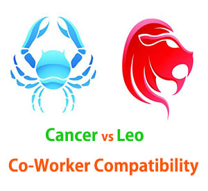 Cancer and Leo Co-Worker Compatibility