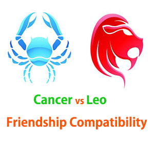 Cancer and Leo Friendship Compatibility