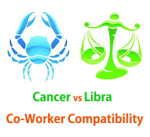 Cancer and Libra Co-Worker Compatibility