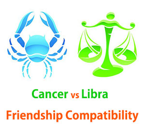 Cancer and Libra Friendship Compatibility