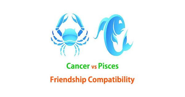 Cancer and Pisces Friendship Compatibility