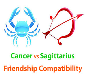 Cancer and Sagittarius Friendship Compatibility