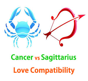 Cancer and Sagittarius Love Compatibility