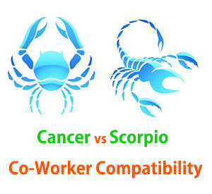 Cancer and Scorpio Co-Worker Compatibility