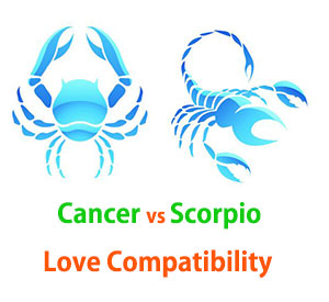 Cancer and Scorpio Love Compatibility