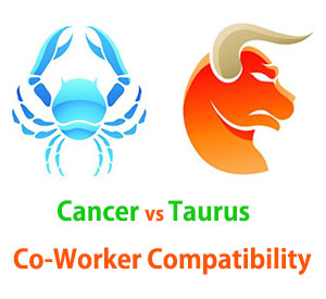 Cancer and Taurus Co-Worker Compatibility