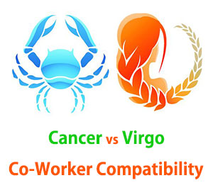 Cancer and Virgo Co-Worker Compatibility