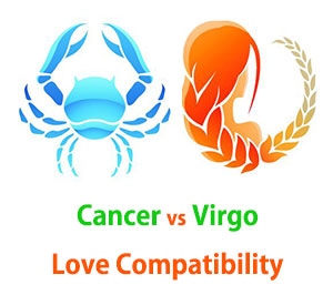 Cancer and Virgo Love Compatibility