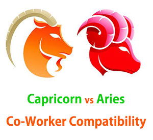 Capricorn and Aries Co-Worker Compatibility