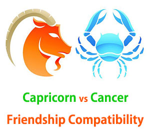 Capricorn and Cancer Friendship Compatibility