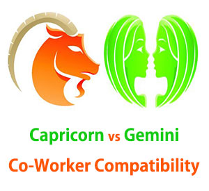 Capricorn and Gemini Co-Worker Compatibility