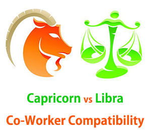 Capricorn and Libra Co-Worker Compatibility