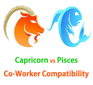 Capricorn and Pisces Co-Worker Compatibility