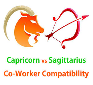Capricorn and Sagittarius Co-Worker Compatibility