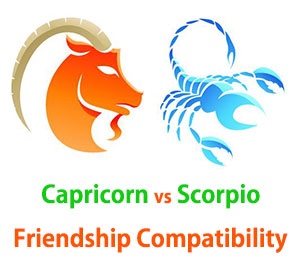 Capricorn and Scorpio Friendship Compatibility