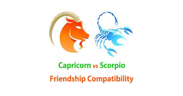 Capricorn and Scorpio Friendship Compatibility