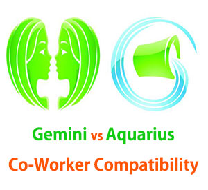 Gemini and Aquarius Co-Worker Compatibility