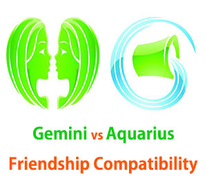 Gemini and Aquarius Friendship Compatibility
