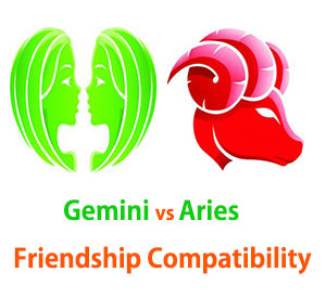 Gemini and Aries Friendship Compatibility