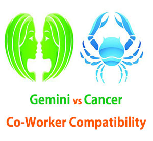 Gemini and Cancer Co-Worker Compatibility