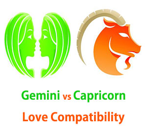 Gemini and Capricorn Love Compatibility