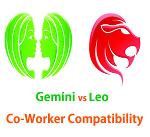 Gemini and Leo Co-Worker Compatibility