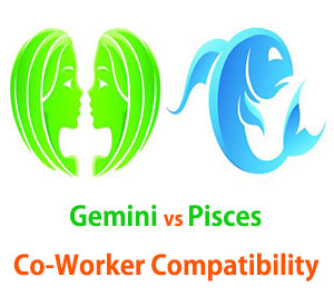 Gemini and Pisces Co-Worker Compatibility