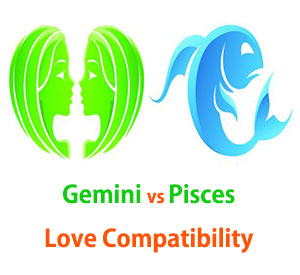 Gemini and Pisces Love Compatibility
