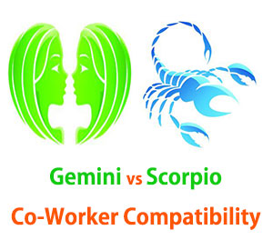 Gemini and Scorpio Co-Worker Compatibility