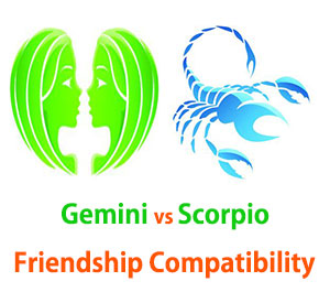 Gemini and Scorpio Friendship Compatibility